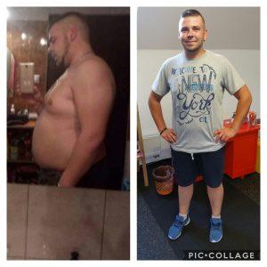 Erik, ktorý schudol 20kg.